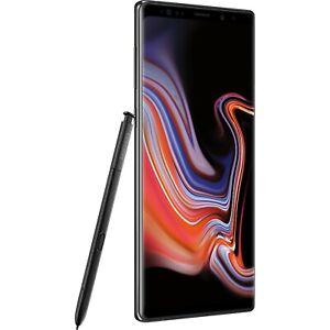 New in Box Samsung Galaxy Note 9 SM-N960U Black GSM Unlocked For ATT and TMobile