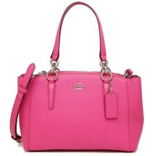 NWT Coach 57523 Mini Christie Carryall in Crossgrain Leather Mby