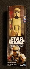"STAR WARS ROUGE ONE 12"" SHORETROOPER ACTION FIGURE SUPER RARE HARD TO FIND"