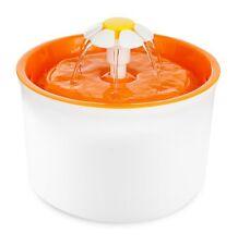 Trinkbrunnen LITTLE FLOWER weiss-orange 1,6 Liter