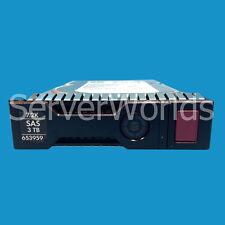 """653959-001  652766-B21 HP 3TB 7.2K 6G DP 3.5"""" SAS652755-003"""