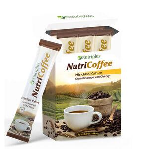 Nutriplus NutriCoffee Grain Beverage with Chicory Coffee,( 16 Sachets x 2g each)