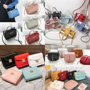 Fashion Women Solid Handbag Small Shoulder Bag Crossbody Bag Messenger Satchel