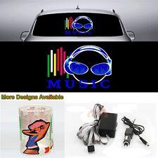 Fashion Music Rhythm Car Sticker Flash Light Sound Activated Equalizer 45cm*30cm