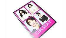 Girls Day GirlsDay Note Book Exercise Book Workbook KPOP Korean K Pop Star