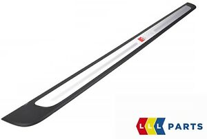 NEW GENUINE AUDI A1 2012-2014 S LINE DOOR ENTRY SILL STRIP LEFT N/S