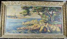 Peinture début XXème - Mer Côtes Marine - Maurice Degllanne