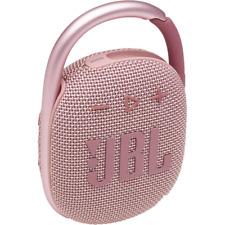 JBL Clip 4 Portable Bluetooth Speaker W Carabiner - Pink