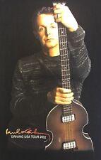 Paul McCartney Driving USA Tour 2002 Concert Black Tee T Shirt Made in USA Men L