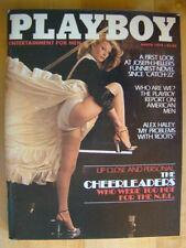 Original Playboy Magazine March 1979 NFL Cheerleaders, Denise McConnell