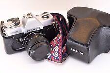 Fujica ST801 35mm SLR Film Camera with 55mm f1.8 Lens - New Seals & Film Tested