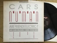 "Gary Numan: Cars / Are Friends Electric 4 X Track 12"" Vinyl Single  Free UK Post"