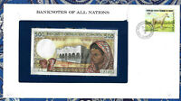 *Banknotes of All Nations Comoros Islands 500 Francs 1986 UNC P10a.1 Prefix Z.1