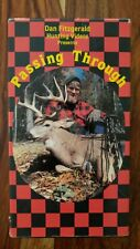Dan Fitzgerald Hunting 1989 Vhs Videos ~ Passing Through