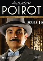 Agatha Christie's Poirot: Series 10 - 2 DISC SET (2013, DVD New) WS