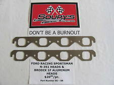 Ford Racing Sportsman N-351 Heads Exhaust Gaskets