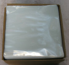 """New  100 Clear 3MIL Poly Outer Sleeves Fit Single 12"""" LP Record"""