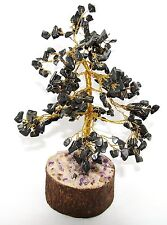Black Onyx Money Tree Reiki Gemstones Spiritual Feng Shui VastuTable Decor