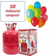 Bambola a Gas per Gonfiare 50 Palloncini con 50 Palloncini Multicolore - 0631495250757