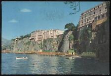 cartolina SORRENTO alberghi e stabilimenti balneari