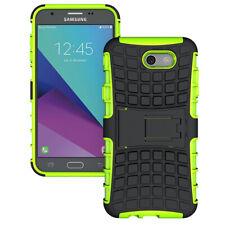 Hybrid Shockproof Rugged Armor Kickstand Case For Samsung Apple LG Smartphone