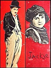 1922 Charles Chaplin & Jackie Coogan Silent Movie (The Kid) Antique Tin Boxes
