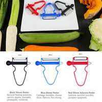 Magic 3pcs Peeler Set Trio Peeler Slicer Shredder julienne Fruit Cutter