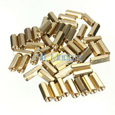 50PCSM3 12 mm Hexagonal net nut Female brass Standoff/Spacer MO