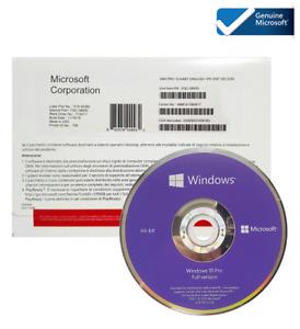 Microsoft Windows 10 Pro 64-bit Operating System - DVD (OEM) License Sealed New