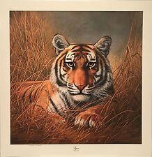 Charles Frace Tiger Print
