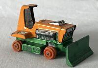 Vintage Matchbox Lesney No. 12 Big Bull Bulldozer 1975 Toy Car