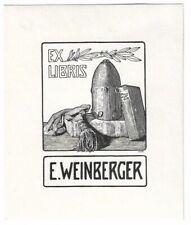 ELISABETH WEINBERGER: Eigen-Exlibris, 1908