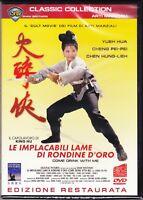 Dvd **LE IMPLACABILI LAME DI RONDINE D'ORO** edizione restaurata 1966