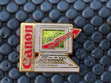 pins pin BADGE PRESSE PHOTO CANON COMPUTER
