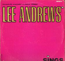"""LEE ANDREWS & THE HEARTS """"SINGS"""" DOO WOP RHYTHM & BLUES LP POST 5000"""