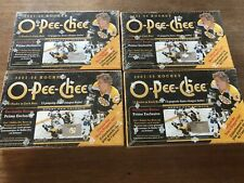Lot of 4 2007-08 Factory Sealed O-Pee-Chee OPC Boxes All Boxes Sealed