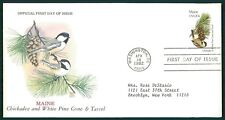 USA FDC 1982 VÖGEL & PFLANZEN MAINE VOGEL BIRDS BIRD PLANT OIESAUX cl82
