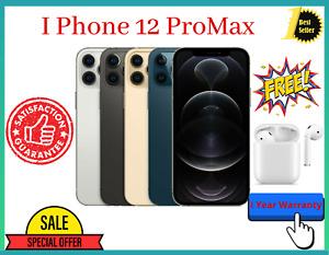 Original 12 Pro Max - 512GB -GSM & CDMA Unlocked -Factory Warranty(Apple iPhone)