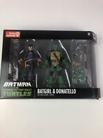 DC Collectibles Batman Vs Teenage Mutant Ninja Turtles TMNT Batgirl & Donatello
