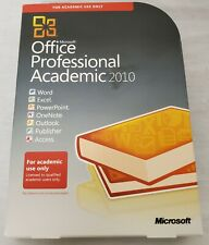 Microsoft Office Professional Academic 2010 Word Excel PowerPoint w/ Product Key