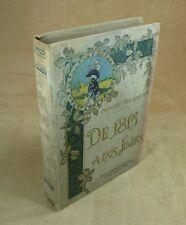CAMILLE PELLETAN - DE 1815 A NOS JOURS - EMILE GAILLARD EDITEUR  SD vers 1900
