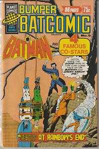 Australian: Bumper Batcomic #9 Murray Comics 1978 96 Pages Joker Green Arrow + M