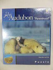 "Audubon Parenthood 1026 Piece Puzzle Polar Bear and Cub NEW 27"" x 20"""