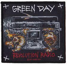 Green Day patche officiel écusson licence patch à coudre punk Revolution Radio