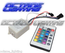 24 Key 16 Color IR Remote Control Controller For COB RGB LED Halo Headlights