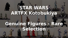 ARTFX Selection - Kotobukiya Star Wars 1/10 Figures - Genuine Figures - Rare