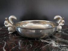 coupe métal argenté art-déco CURIOSITY by PN