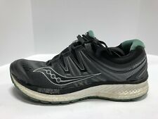 Saucony Hurricane Iso 4 Mens Running Shoes Black 9 M