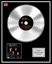 QUEEN Ltd Edition CD Platinum Disc Record GREATEST HITS