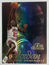 1996-97 Flair Showcase Michael Jordan Row 2 Seat 23 Section 1